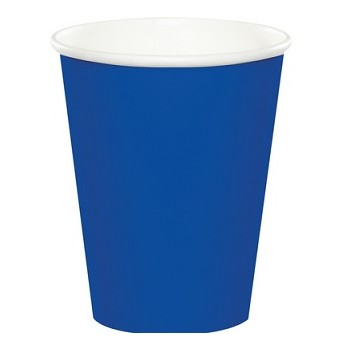 Bicchiere Blu 266 ml. 8 pz