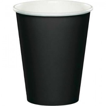 Bicchiere Nero 266 ml. 8 pz