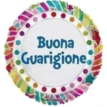 Palloncino Bubble Elegant Greenery 61 cm.