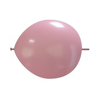 Palloncino in Lattice Link 16 cm. Rosa