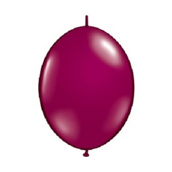 Palloncino in Lattice Link 32 cm. Bordeaux