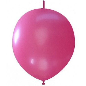 Palloncino in Lattice Link 32 cm. Fucsia