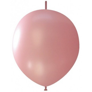 Palloncino in Lattice Link 32 cm. Rosa Confetto