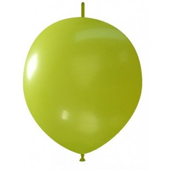 Palloncino in Lattice Link 32 cm. Verde Lime