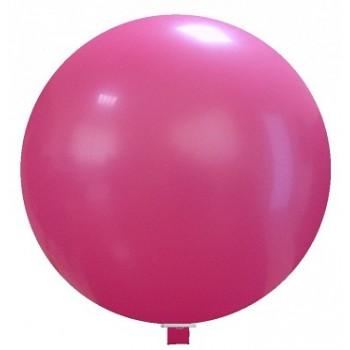 Palloncino in Lattice Mongolfiera 115 cm. Fucsia - Round