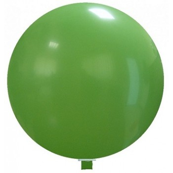 Palloncino in Lattice Mongolfiera 115 cm. Verde - Round
