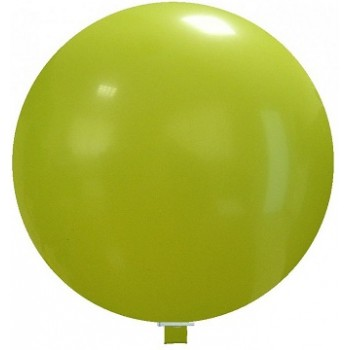 Palloncino in Lattice Mongolfiera 80 cm. Verde Lime - Round