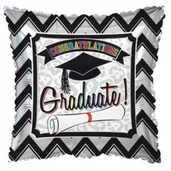 Palloncino in Lattice Rotondo 12,5 cm. Stampa Pois Rosa