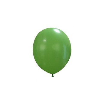 Palloncino in Lattice Rotondo 12,5 cm. Verde Scuro