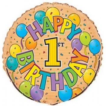 Palloncino in Lattice Rotondo 150 cm. Blu - Piatto. Si consiglia valvola di chiusura