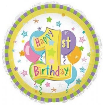 Palloncino in Lattice Rotondo 150 cm. Nero - Piatto. Si consiglia valvola di chiusura