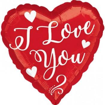 Palloncino in Lattice Rotondo 30 cm. Azzurro Metallizzato