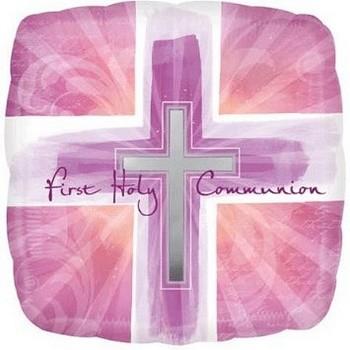 Palloncino in Lattice Rotondo 30 cm. Blu Metallizzato