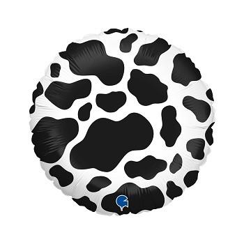 Palloncino in Lattice Rotondo 30 cm. Stampa Baby Girl