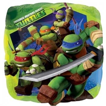 Palloncino in Lattice Rotondo 30 cm. Stampa Comunione Azzurro