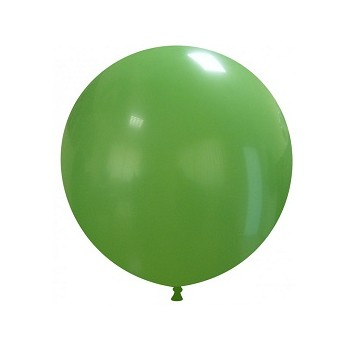 Palloncino in Lattice Rotondo 48 cm. Verde Scuro