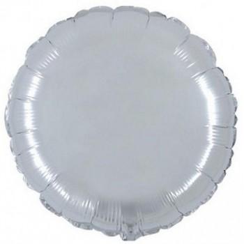 Palloncino in Lattice Rotondo 80 cm. Stampa 18 ° Compleanno Nero/ Oro Glitter