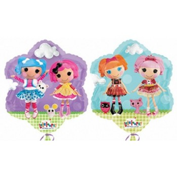 Palloncino Mylar 45 cm. LaLaLoopsy Happy Birthday