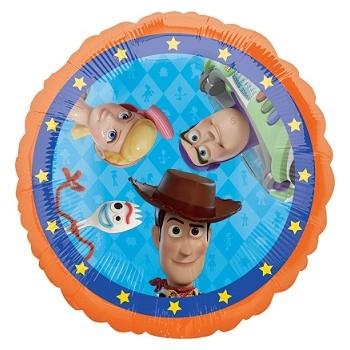 Palloncino Mylar 45 cm. Age 11° Happy Birthday Red - Silver