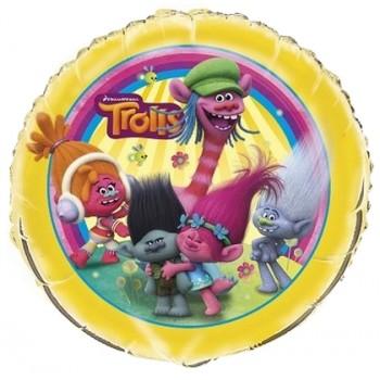 Palloncino Mylar 45 cm. Age 2° Happy Birthday Red - Silver