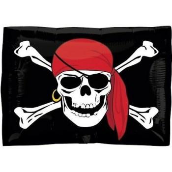 Palloncino Mylar 45 cm. Angry Birds King Pig