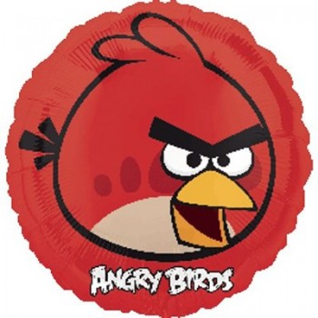 Palloncino Mylar 45 cm. Angry Birds Red Bird
