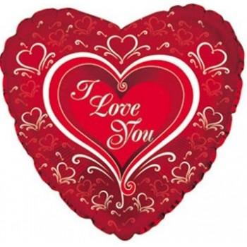 Palloncino Mylar 45 cm. Baby Shower Watercolor Shape