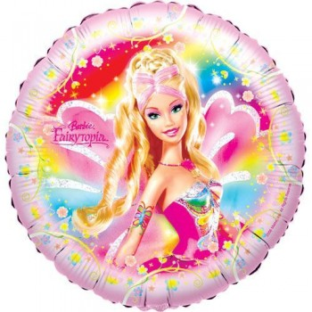 Palloncino Mylar 45 cm. Barbie Fairytopia