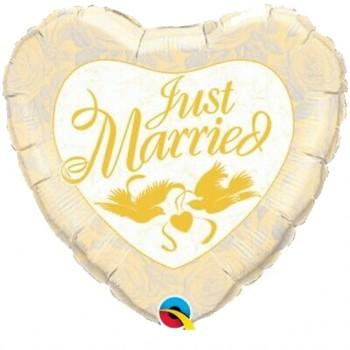 Palloncino Mylar 45 cm. Besos y Abrazos