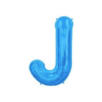 Palloncino Mylar 45 cm. Blue Polka Dots