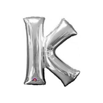 Palloncino Mylar 45 cm. Blue Stripe