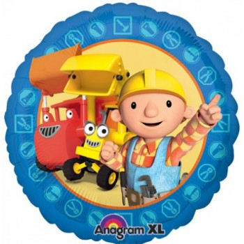 Palloncino Mylar 45 cm. Bob The Builder