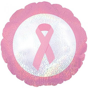 Palloncino Mylar 45 cm. Breast Cancer Dazzeloon