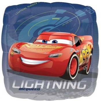 Palloncino Mylar 45 cm. Disney Cars Lightening