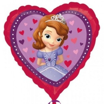 Palloncino Mylar 45 cm. Disney Princess Sofia The First Love