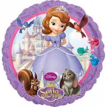 Palloncino Mylar 45 cm. Disney Princess Sofia The First