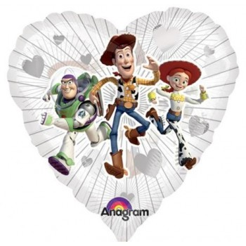 Palloncino Mylar 45 cm. Disney Toy Story Movie Clearly Love