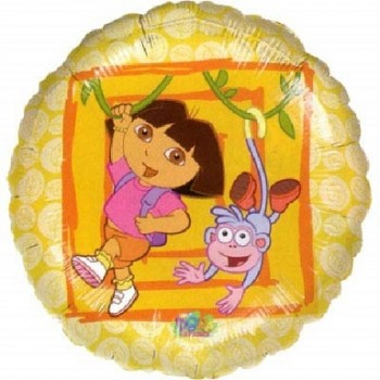 Palloncino Mylar 45 cm. Dora the Explorer