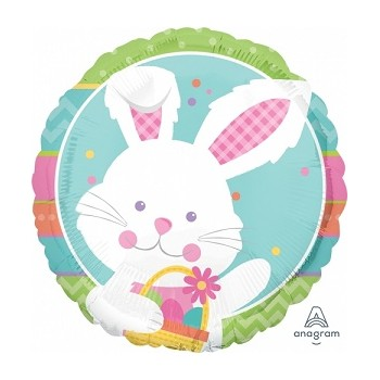 Palloncino Mylar 45 cm. Easter Happy Hop