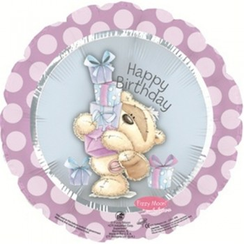 Palloncino Mylar 45 cm. Fizzy Moon Happy Birthday Day Gifts