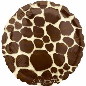 Palloncino Mylar 45 cm. Giraffe Print