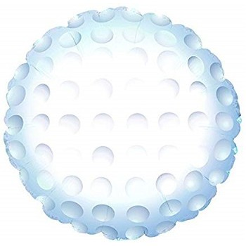 Palloncino Mylar 45 cm. Golf Ball
