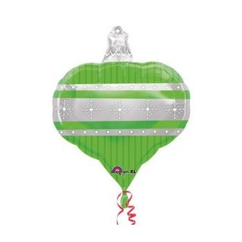 Palloncino Mylar 45 cm. Green Ornament