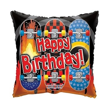 Palloncino Mylar 45 cm. Happy Birthday