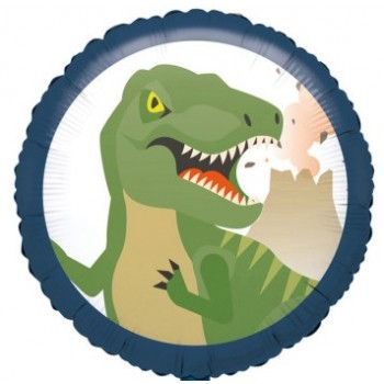 Palloncino Mylar 45 cm. Happy Dinosaurus
