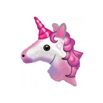 Palloncino Mylar 45 cm. Il Mio Battesimo Rosa
