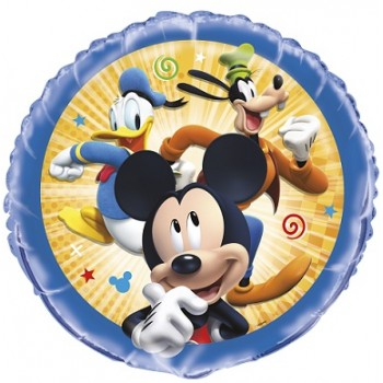 Palloncino Mylar 45 cm. Mickey Mouse Roadster Racers