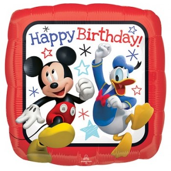 Palloncino Mylar 45 cm. Mickey Roadster Racers HBD
