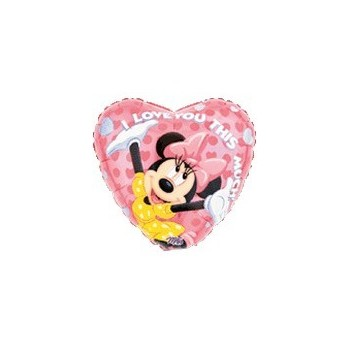 Palloncino Mylar 45 cm. Minnie/Mickey Mouse Love