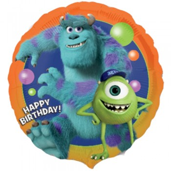 Palloncino Mylar 45 cm. Monster University Birthday